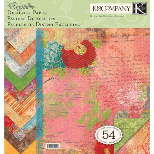 K&Company Double-Sided Designer Paper Pad