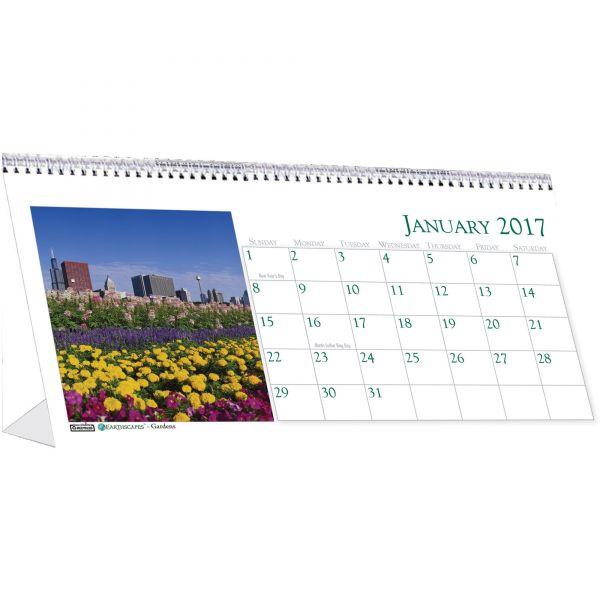 House of Doolittle Garden Monthly Desktop Tent Calendar