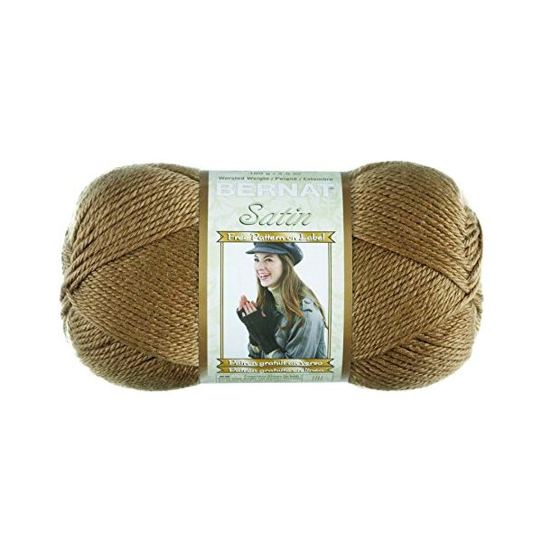 Bernat Satin Yarn - Sable