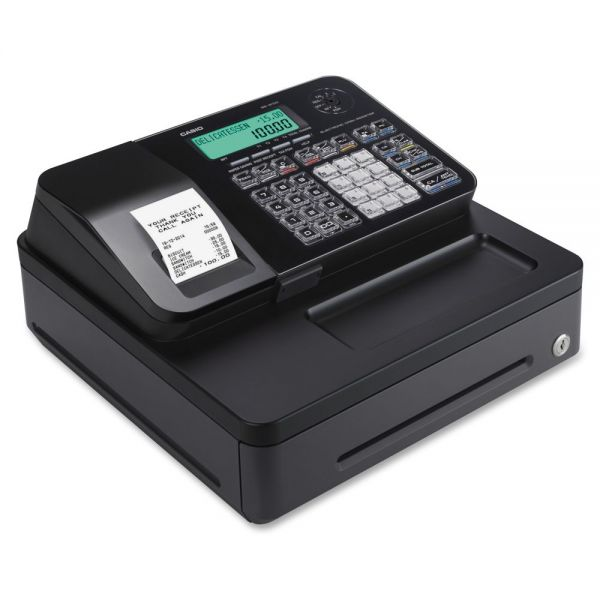 Casio Entry Level PCR-T285-BK Cash Register Black