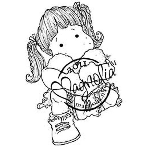 "Sweet Crazy Love Cling Stamp 6.5""X3.5"" Package"