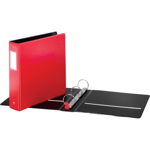 Cardinal Label Holder Round Ring Binders