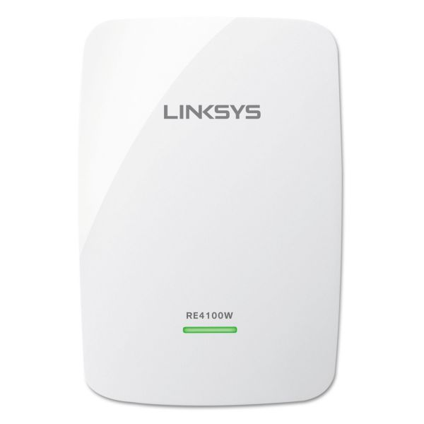 Linksys RE4100W IEEE 802.11n 600 Mbit/s Wireless Range Extender