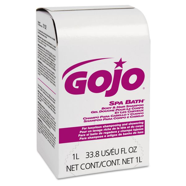 GOJO NXT Spa Bath Body & Hair Shampoo Refills