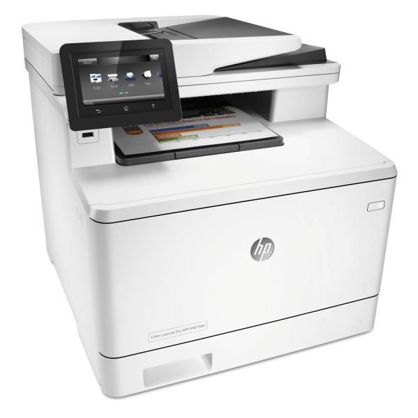 HP Color LaserJet Pro MFP M477fdn, Copy/Fax/Print/Scan