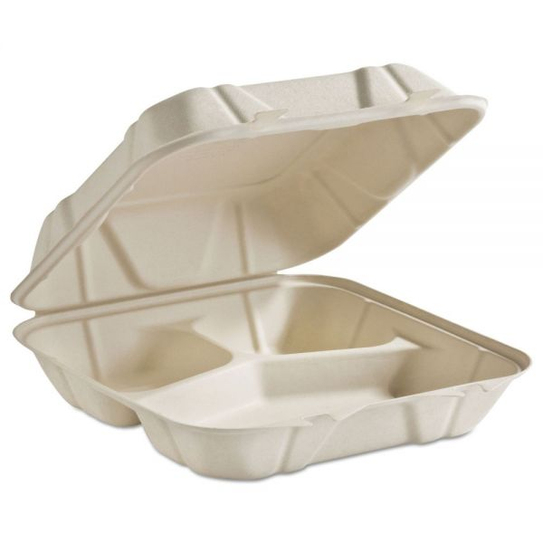 Chinet Takeout Clamshell Food Containers