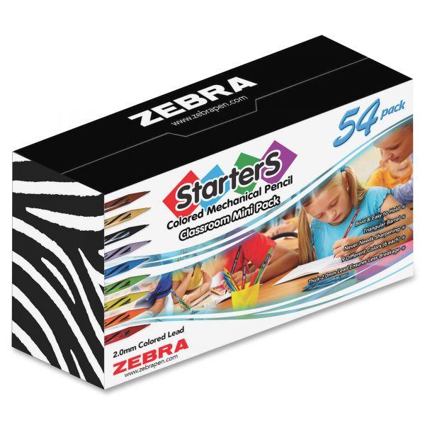 Zebra Pen 54-pc Cadoozles Starters Mech. Pencil Set