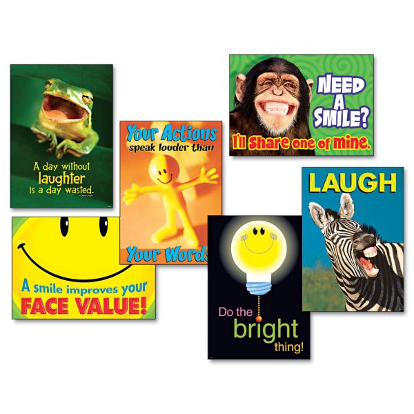Attitude & Smiles ARGUS Posters Combo Pack