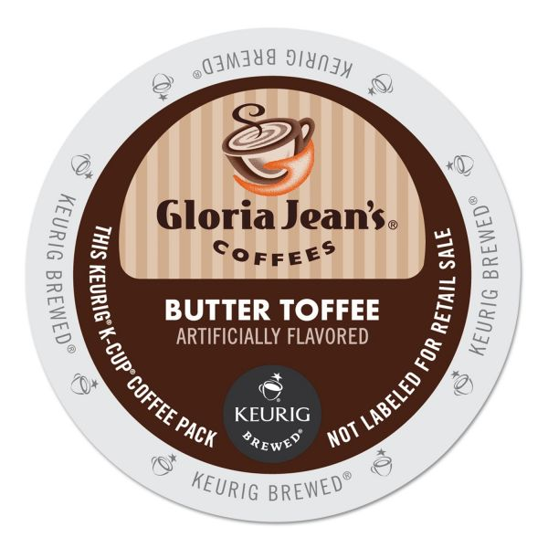 Gloria Jean's Butter Toffee Coffee K-Cups
