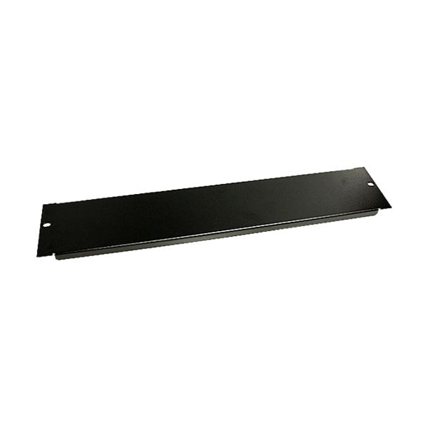 StarTech.com Blanking Panel - 2U - 19in - Steel - Black - Blank Rack Panel - Filler Panel - Rack Mount Panel - Rack Blanks