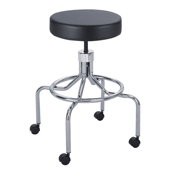 Safco Screw Lift Lab Stool With High Base