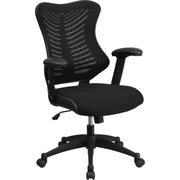 Flash Furniture High Back Designer Mesh Executive Office Chair with Mesh Padded Seat