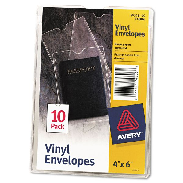 Avery Vinyl Envelopes