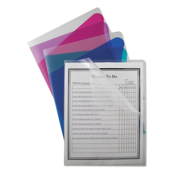 C-Line Project Folders With Dividers
