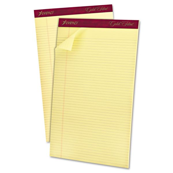 Ampad Gold Fibre Premium Yellow Legal Pads