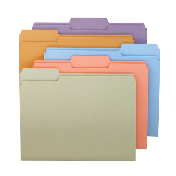 Smead Assortment Colored File Folders
