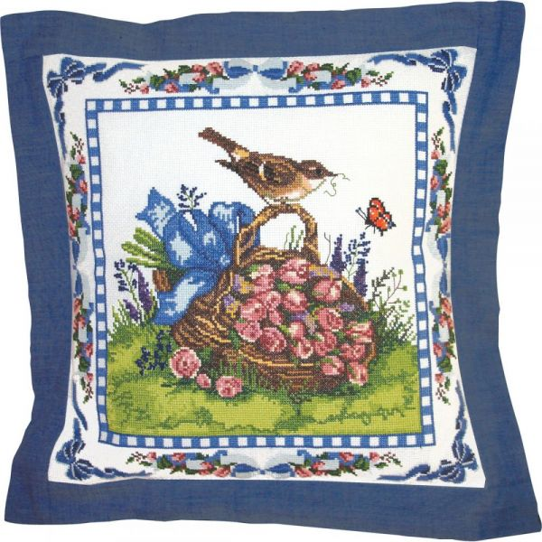Spring Robin Counted Cross Stitch Kit