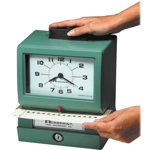Acroprint 125AR3 Manual Time Recorder