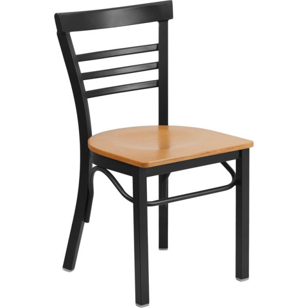 Flash Furniture HERCULES Series Ladder Back Restaurant Chair