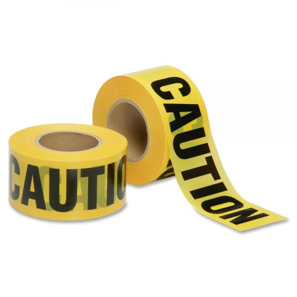 SKILCRAFT 2 mil CAUTION Barricade Tape