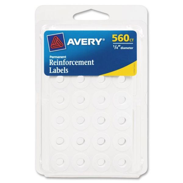 Avery Permanent Reinforcement Label