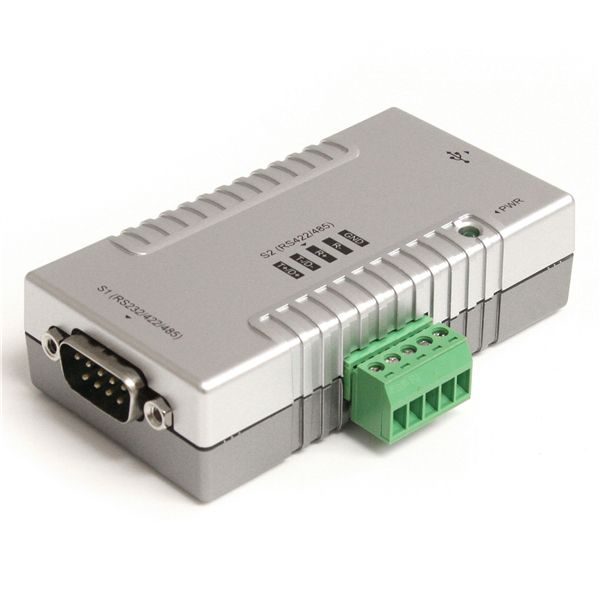 StarTech.com USB to Serial Adapter - 2 Port - RS232 RS422 RS485 - COM Port Retention - FTDI USB to Serial Adapter - USB Serial