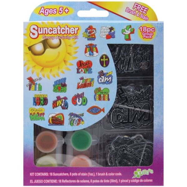 Kelly's Kidz Sparkle Religious Suncatcher Activity Kit