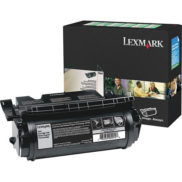 Lexmark 64475XA Black Extra High Yield Return Program Toner Cartridge