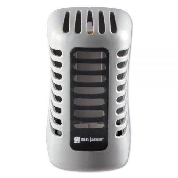 San Jamar Arriba Twist Passive Dispenser, 2 7/8 x 4 5/8 x 2 7/8, Gray