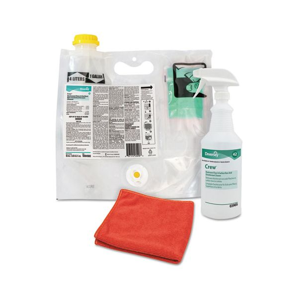 Diversey Crew Restroom Non-Acid Disinfectant Cleaner