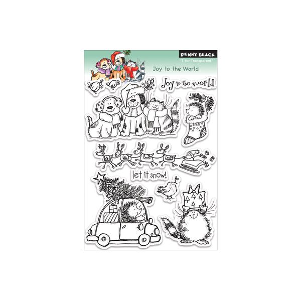 "Penny Black Clear Stamps 5""X6"" Sheet"
