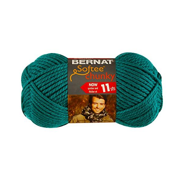 Bernat Softee Chunky Yarn - Emerald
