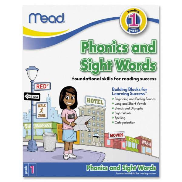 Mead Grade 1 PhonicsSight Words Building Workbook Education Printed Book