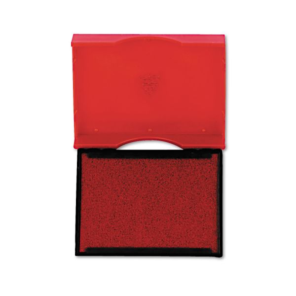 Identity Group Trodat T4750 Stamp Replacement Pad, 1 x 1 5/8, Red