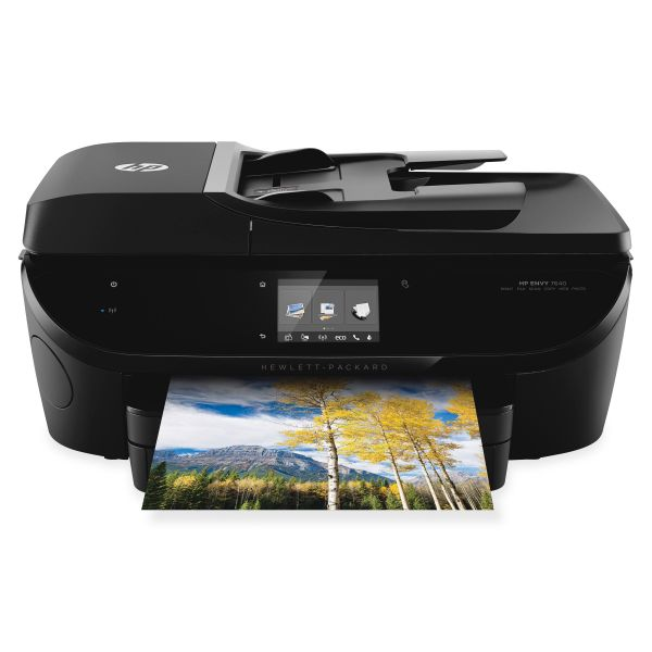 HP ENVY 7640 Wireless e-All-in-One Printer, Copy/Fax/Print/Scan