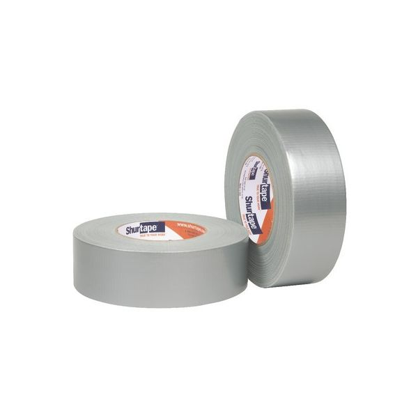 "Shurtape Light Industrial Grade Duct Tape, 2"" x 60yd, Silver"
