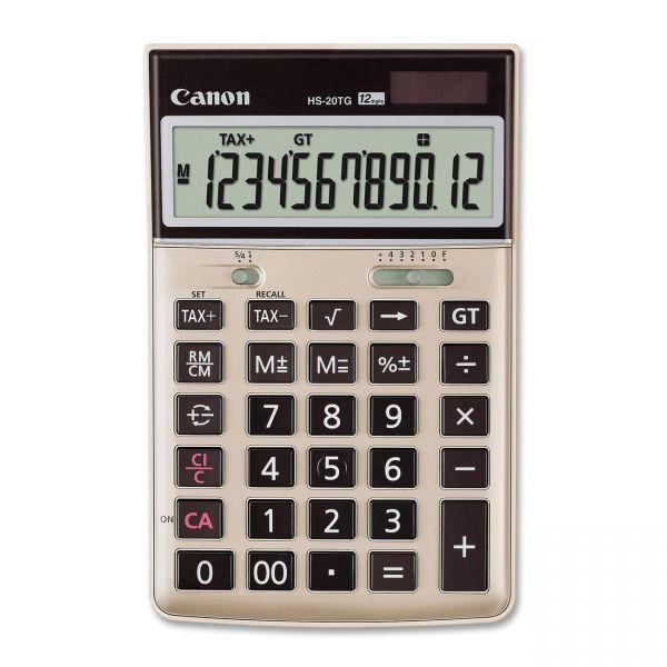 Canon HS-20TG Enviro Desktop Calculator