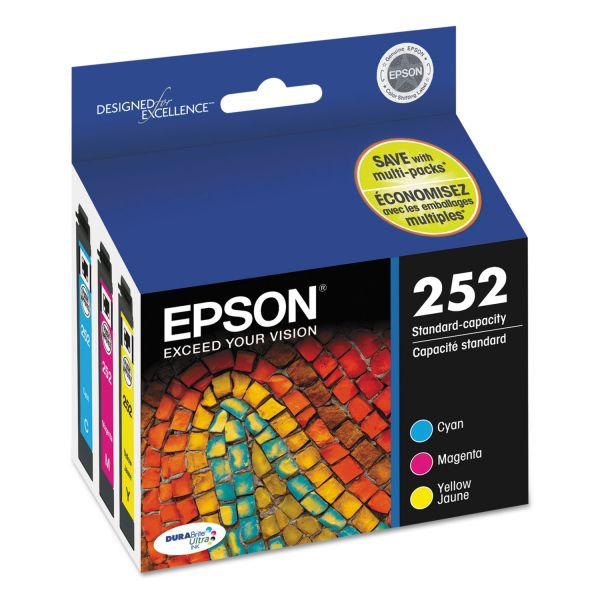 Epson 252 DURABrite Ultra Ink Cartridges (T252520)