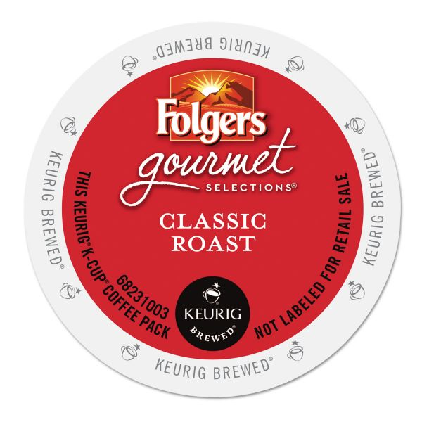 Folgers Gourmet Selections Classic Roast Coffee K-Cups