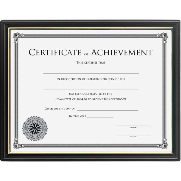 Lorell Ready-To-Use Picture/Certificate Frame