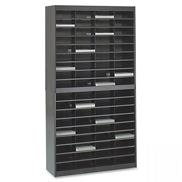 Safco 72 Compartments Literature Organizer