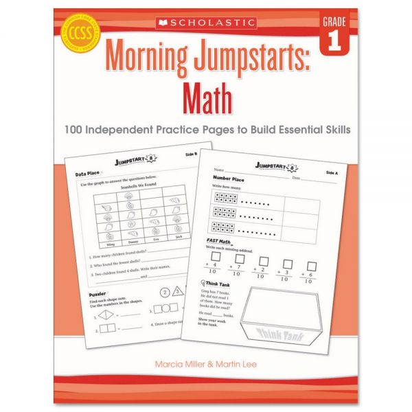Scholastic Morning Jumpstart Series Book, Math, Grade 1