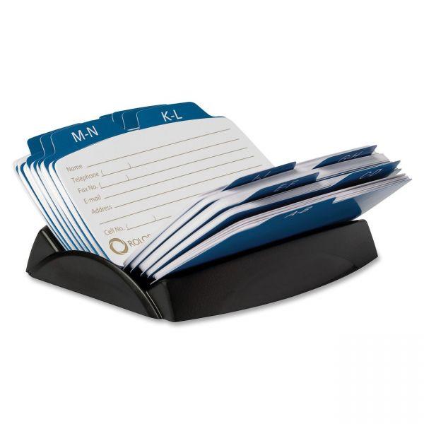 Rolodex petite 6-Divider Open Petite Card File