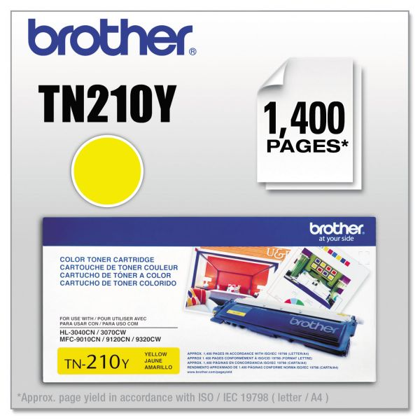 Brother TN210Y Toner, Yellow