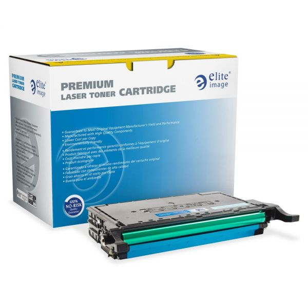 Elite Image Remanufactured Samsung CLP670C Toner Cartridge