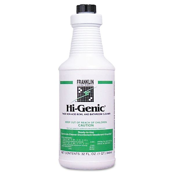 Franklin Cleaning Technology Hi-Genic Non-Acid Bowl & Bathroom Cleaner