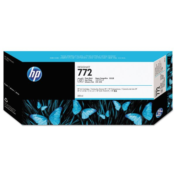 HP 772 Photo Black Ink Cartridge (CN633A)