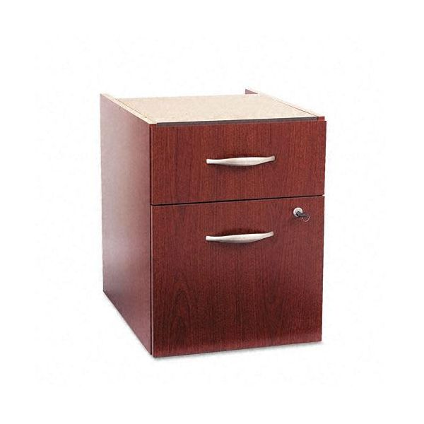 Bush Furniture 3/4 Pedestal (B/F) (Assembled) Series C Mahogany