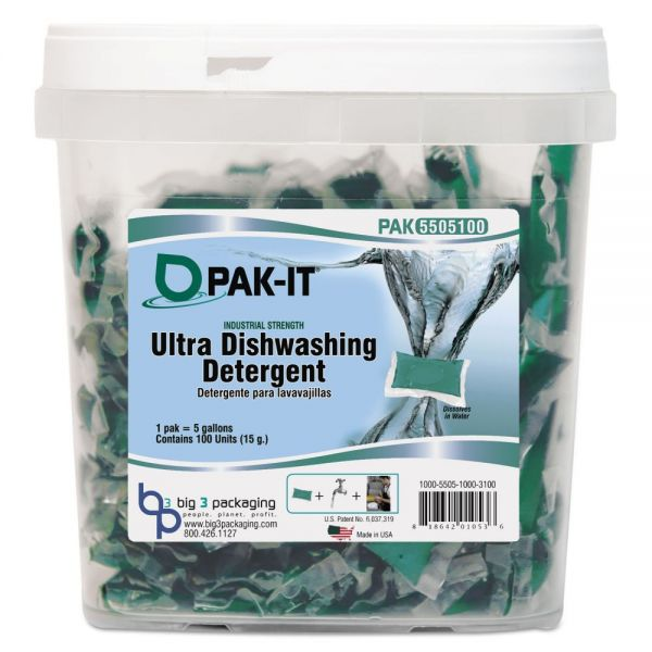 PAK-IT Ultra Dish Detergent