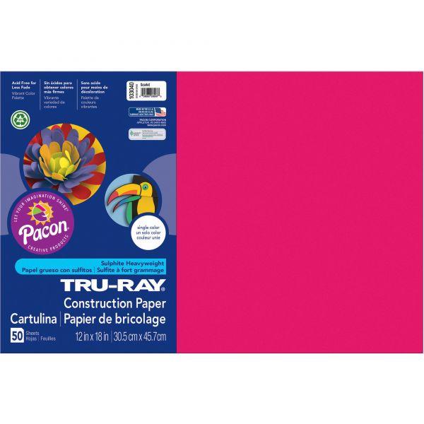Tru-Ray Heavyweight Construction Paper